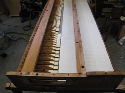 Broichweiden ev Kirche Noble-Orgel Restaurierung Weimbs 07