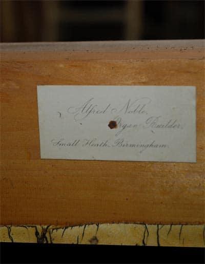Broichweiden ev Kirche Noble-Orgel Restaurierung Weimbs 11
