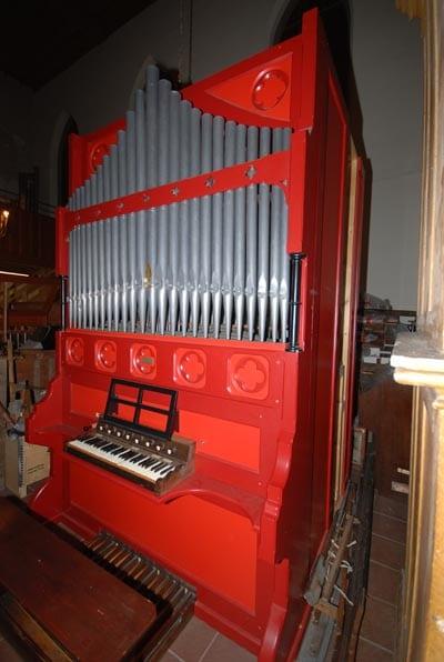 Broichweiden ev Kirche Noble-Orgel Restaurierung Weimbs 15