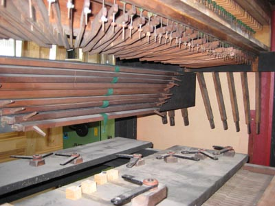 Broichweiden ev Kirche Noble-Orgel Restaurierung Weimbs 16