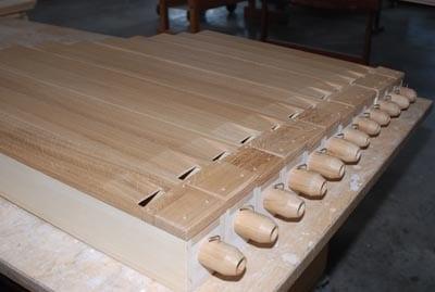 Holzpfeifen Rheydt Weimbs-Orgel 9