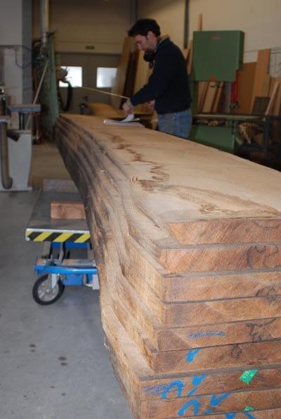 Holzzuschnitt Rheydt Weimbs-Orgel 40
