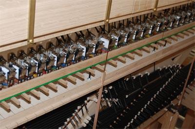 Koppelmagnete Rheydt Weimbs-Orgel 11