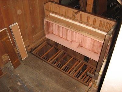 Maring St Remigius Voltmann-Orgel Restaurierung Weimbs 08