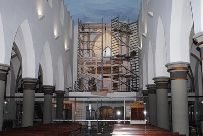 Montage Rheydt Weimbs-Orgel 2