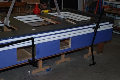 Restaurierung Doppelfaltenbalg 3