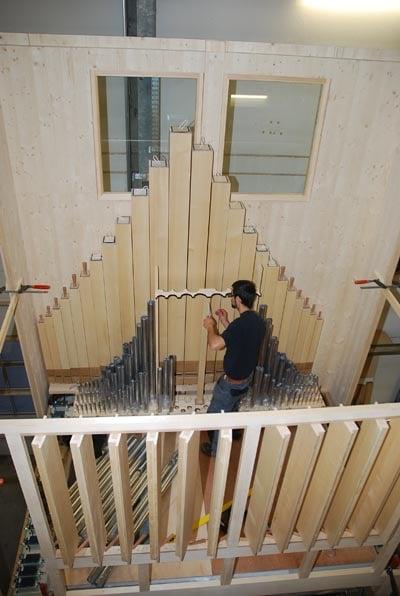 Schwellwerk Rheydt Weimbs-Orgel 10