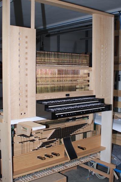 Spieltischdetail Rheydt Weimbs-Orgel 06