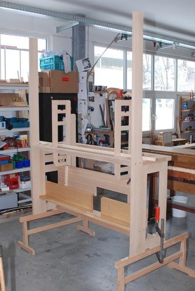Spieltischdetail Rheydt Weimbs-Orgel 45