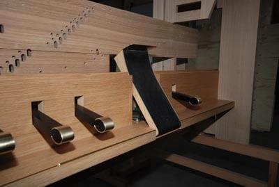 Spieltischdetail Rheydt Weimbs-Orgel 50