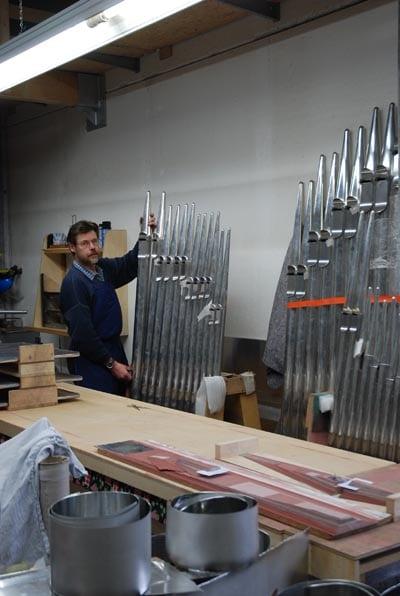 Wehlen St Agatha Voltmann-Orgel Restaurierung Weimbs 13