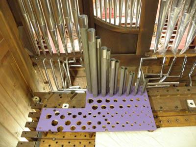 Wehlen St Agatha Voltmann-Orgel Restaurierung Weimbs 22