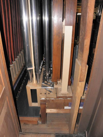 Wehlen St Agatha Voltmann-Orgel Restaurierung Weimbs 23