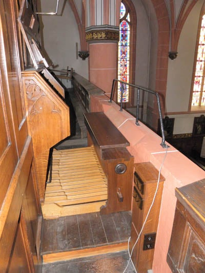 Wehlen St Agatha Voltmann-Orgel Restaurierung Weimbs 27