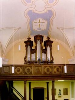Aremberg, St Nikolaus - König-Orgel (1750)