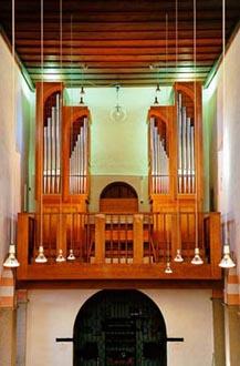 Duesseldorf-Itter, St Hubertus - Weimbs-Orgel