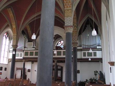 Euskirchen-Weidesheim, St Mariä Himmelfahrt - Bach-Orgel (1935)