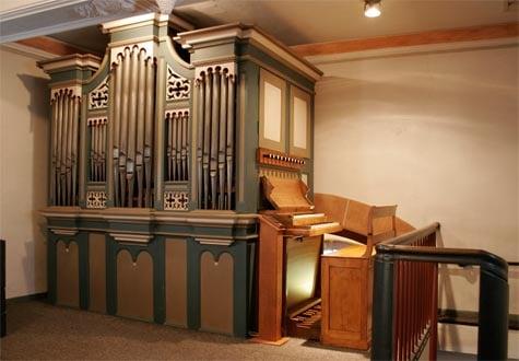 Euskirchen Dom-Esch, St. Martinus - Schorn-Orgel (1870)