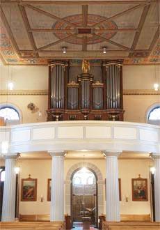 Grevenbroich-Wevelinghoven, St. Martinus - Maaß-Orgel (1836)