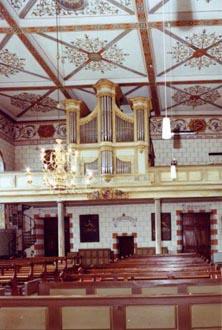 Mechernich-Holzheim, St. Lambertus - Meurer-Orgel (1848)