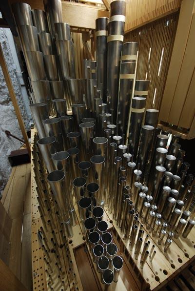Pfeifenwerk Weimbs-Orgel Abteikirche Brauweiler