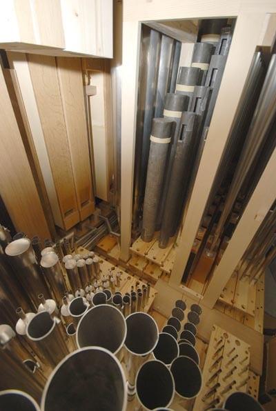 Pfeifenwerk Weimbs-Orgel Brauweiler