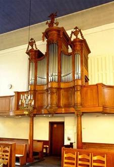 Xanten, ev. Kirche - König-Orgel (1785)