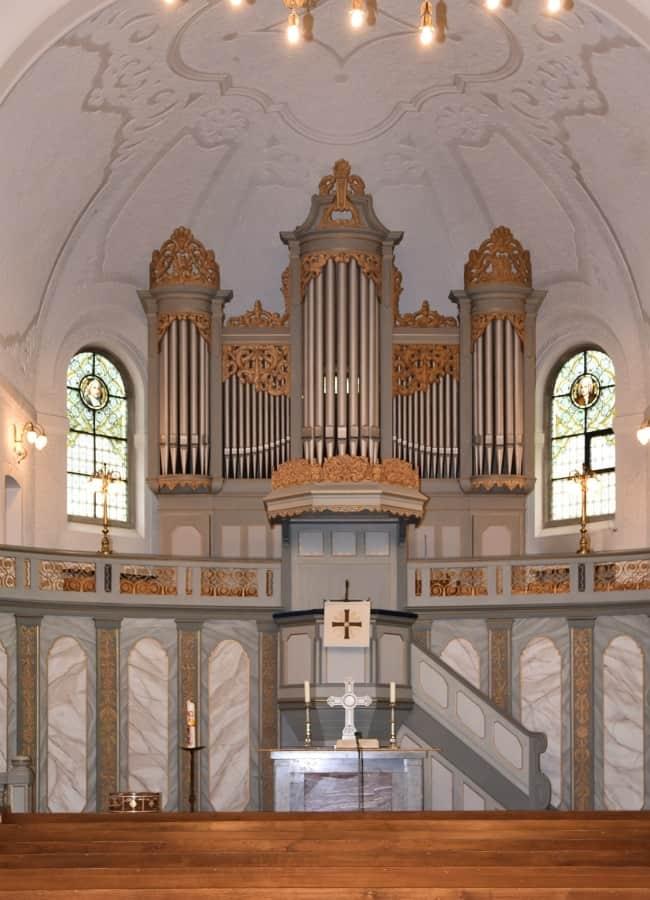 Bonn-Oberkassel Große Evangelische Kirche Walcker-Orgel