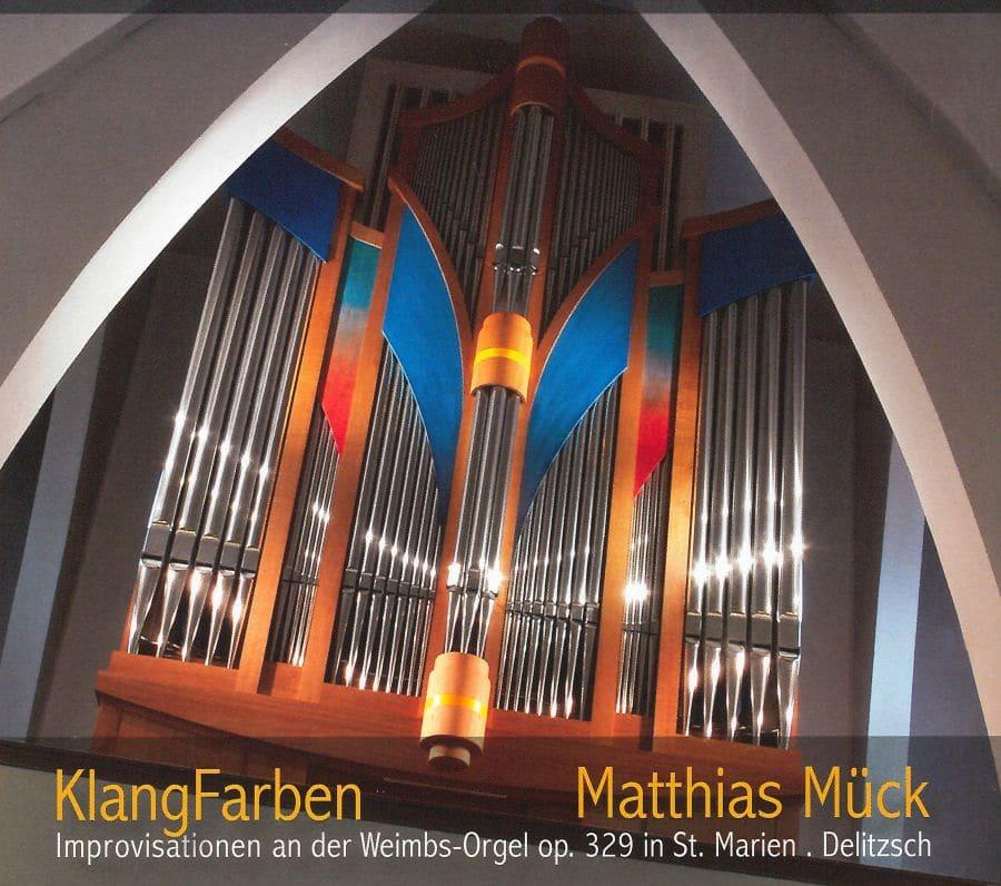 CD Weimbs-Orgel Delitzsch Klangfarben