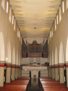 Orgelprospekt 1963-2009