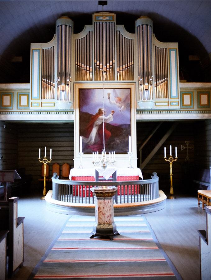 Landvik, evangelische Kirche [Norwegen]