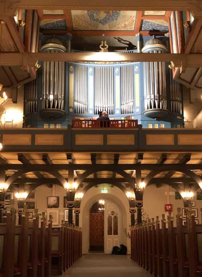 Norwegen Hamar Domkirke Weimbs-Orgel