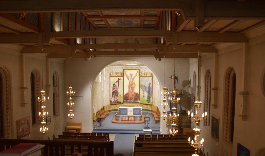 Altar Domkirche Hamar