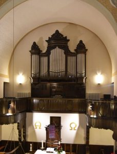 Orgel Christuskirche Homberg