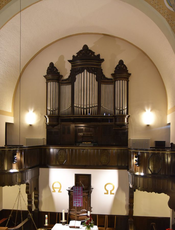 Ratingen-Homberg, ev. Christuskirche