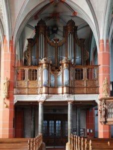 Schleiden, Schlosskirche St Philippus und Jakobus – König-Orgel (1770)
