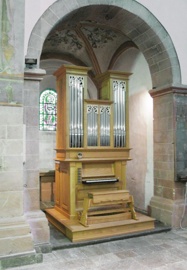 Chororgel – Steinfeld, Basilika St. Potentinus