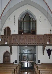 Swisttal-Straßfeld, St. Antonius - Klais-Orgel (1908)